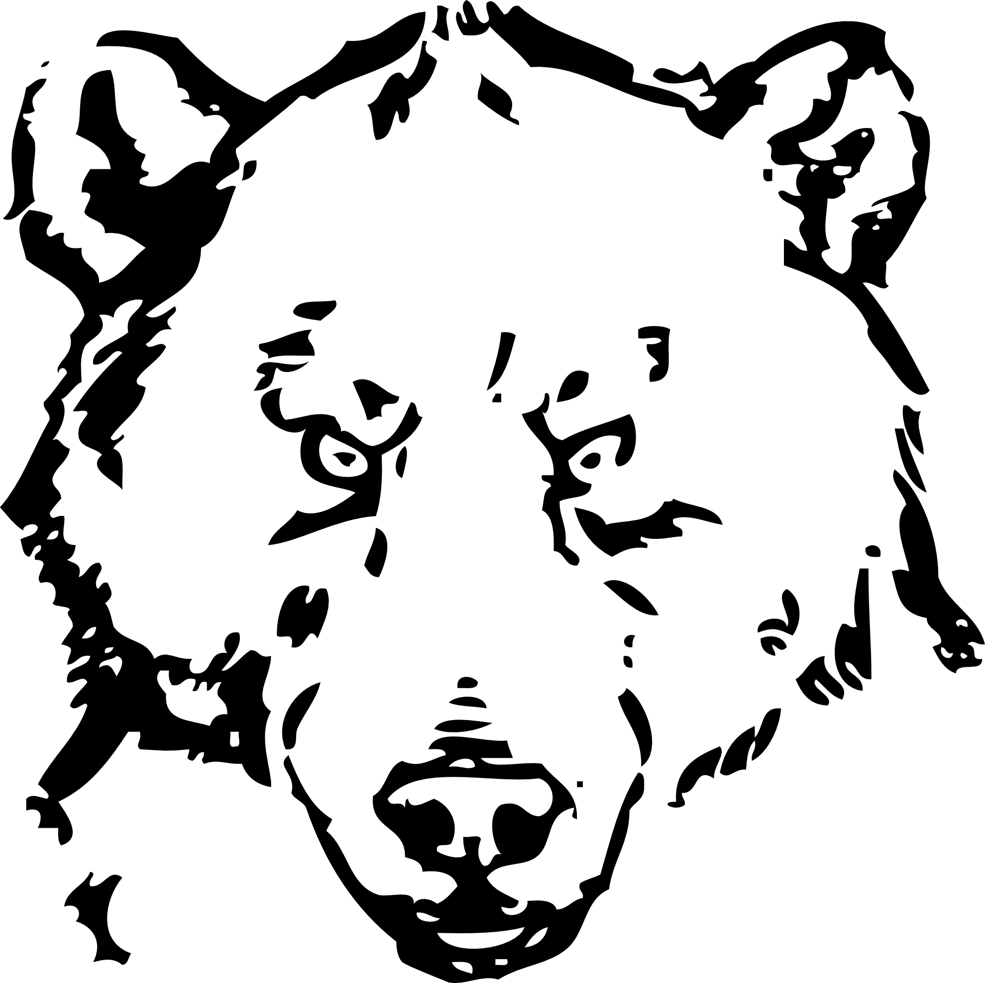 Bear Clipart Black And White - ClipArt Best