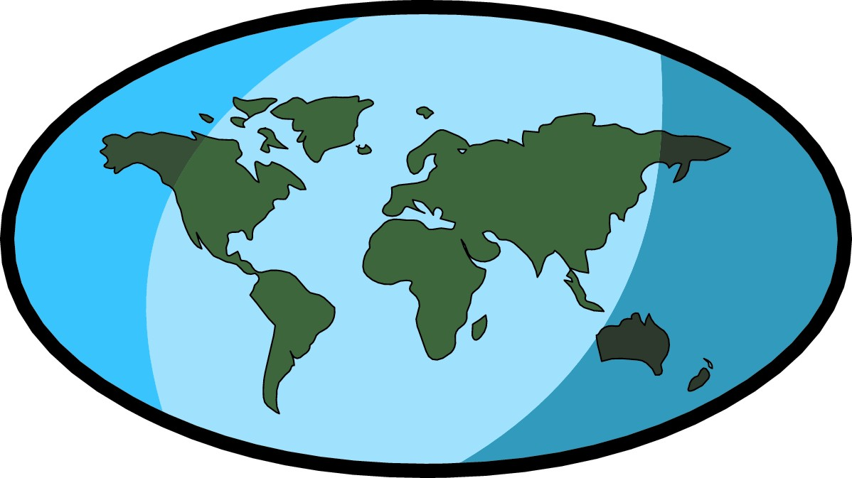 World Map Clip Art Free - ClipArt Best