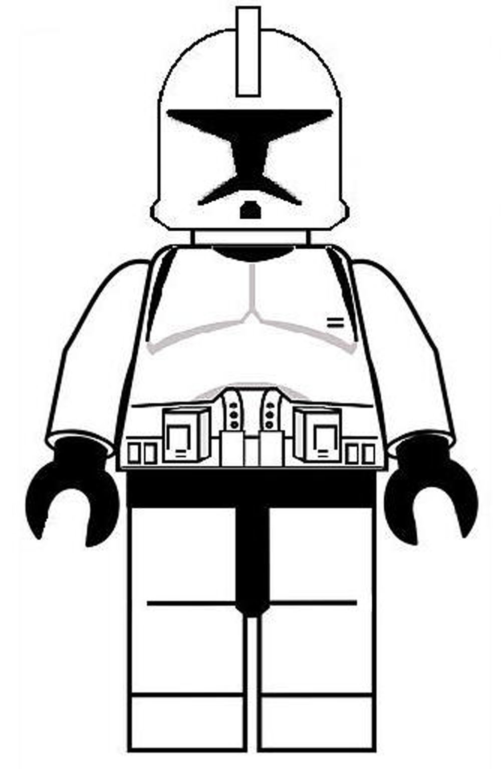 Lego Stormtrooper Coloring Pages Sketch Coloring Page  Star Wars Lego Storm Trooper Coloring Pages