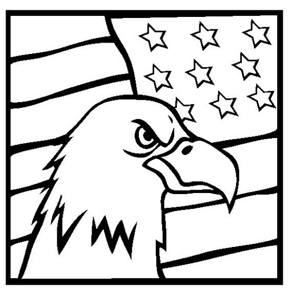 Veterans Day Clip Art Coloring Pages