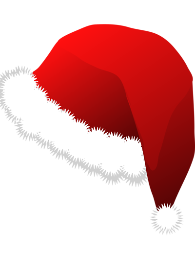 santa hat clipart with transparent background - photo #31
