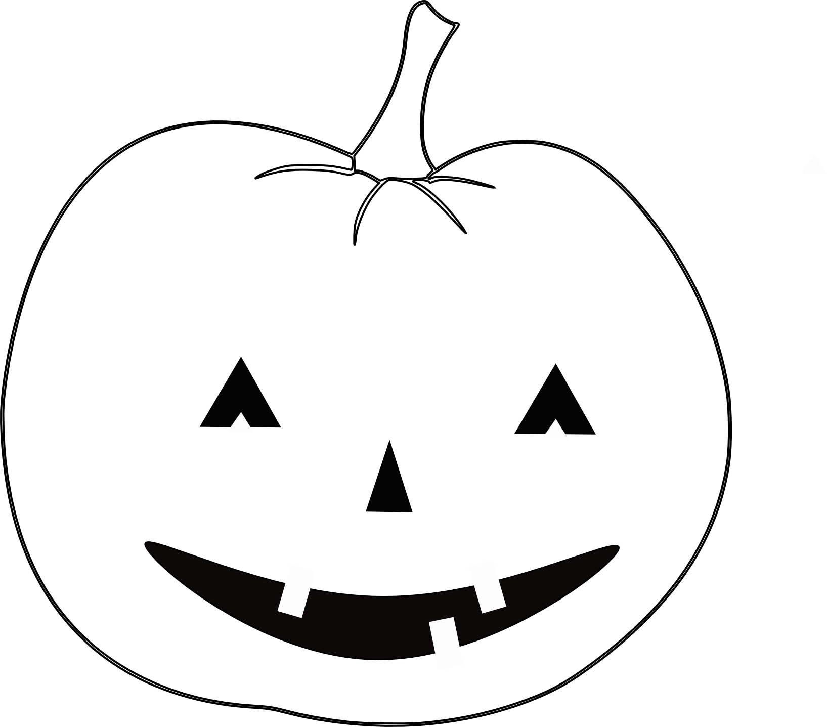 Displaying 15> Images For - Halloween Outline...