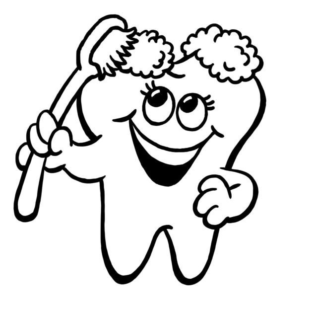 Happy Tooth Clipart Best