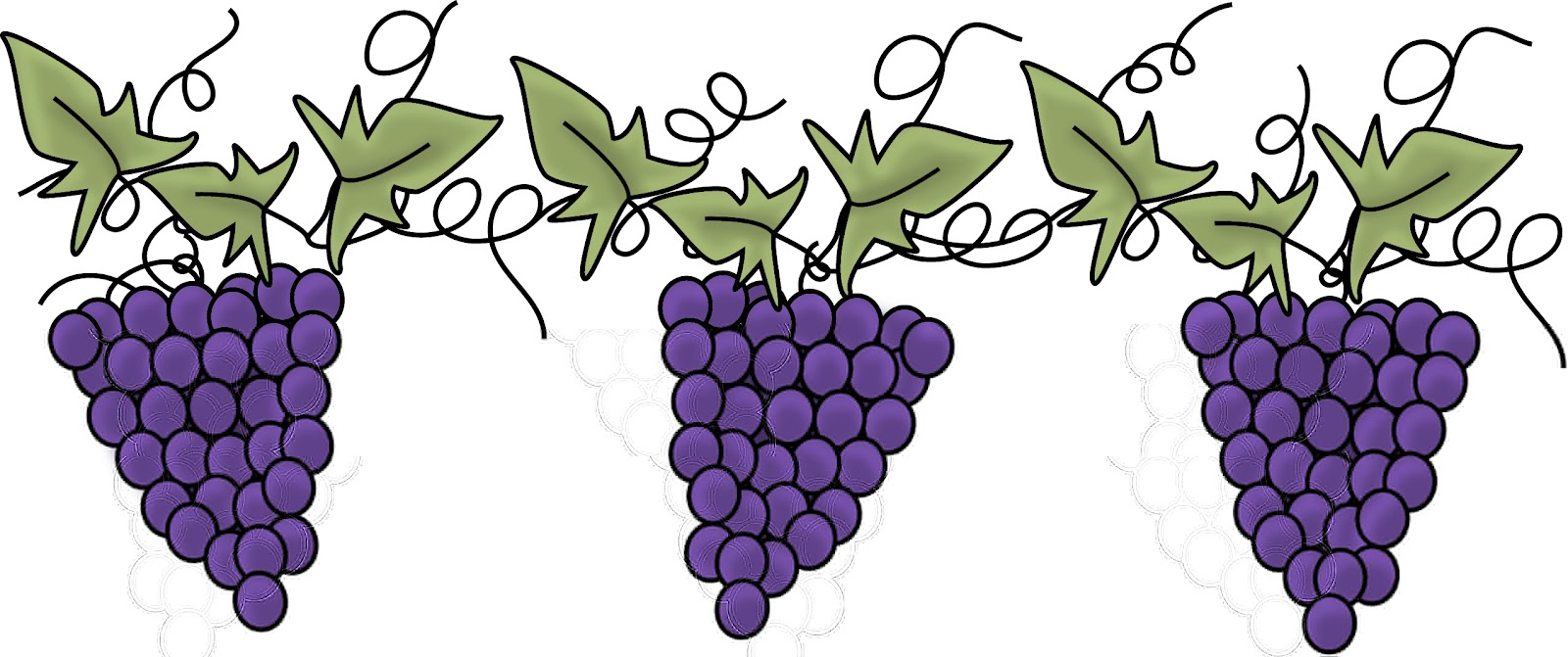 Grapevine Border - ClipArt Best