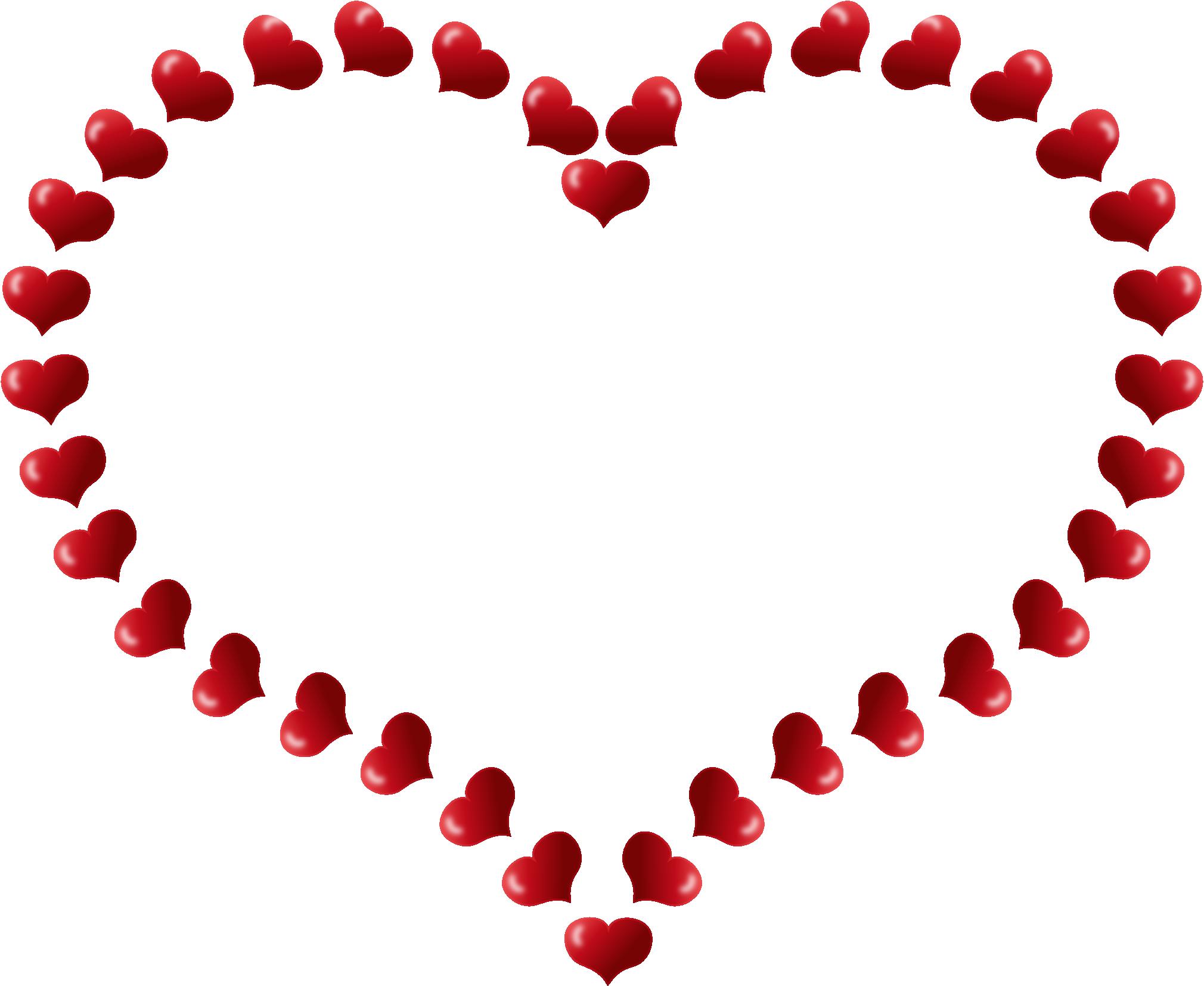 Hearts Border Clip Art - ClipArt Best