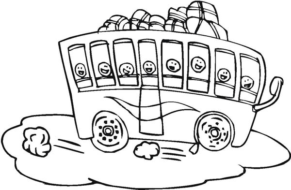 clipart school bus field trip - photo #47
