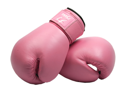 Pink Childrens Boxing Gloves - ClipArt Best