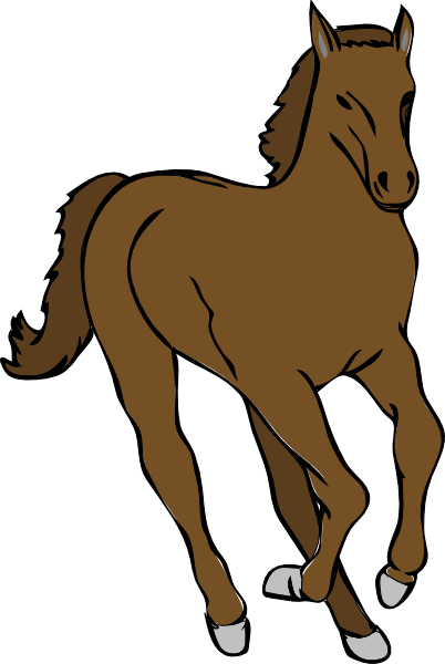 Galloping Horse Clip art - Animal - Download vector clip art online