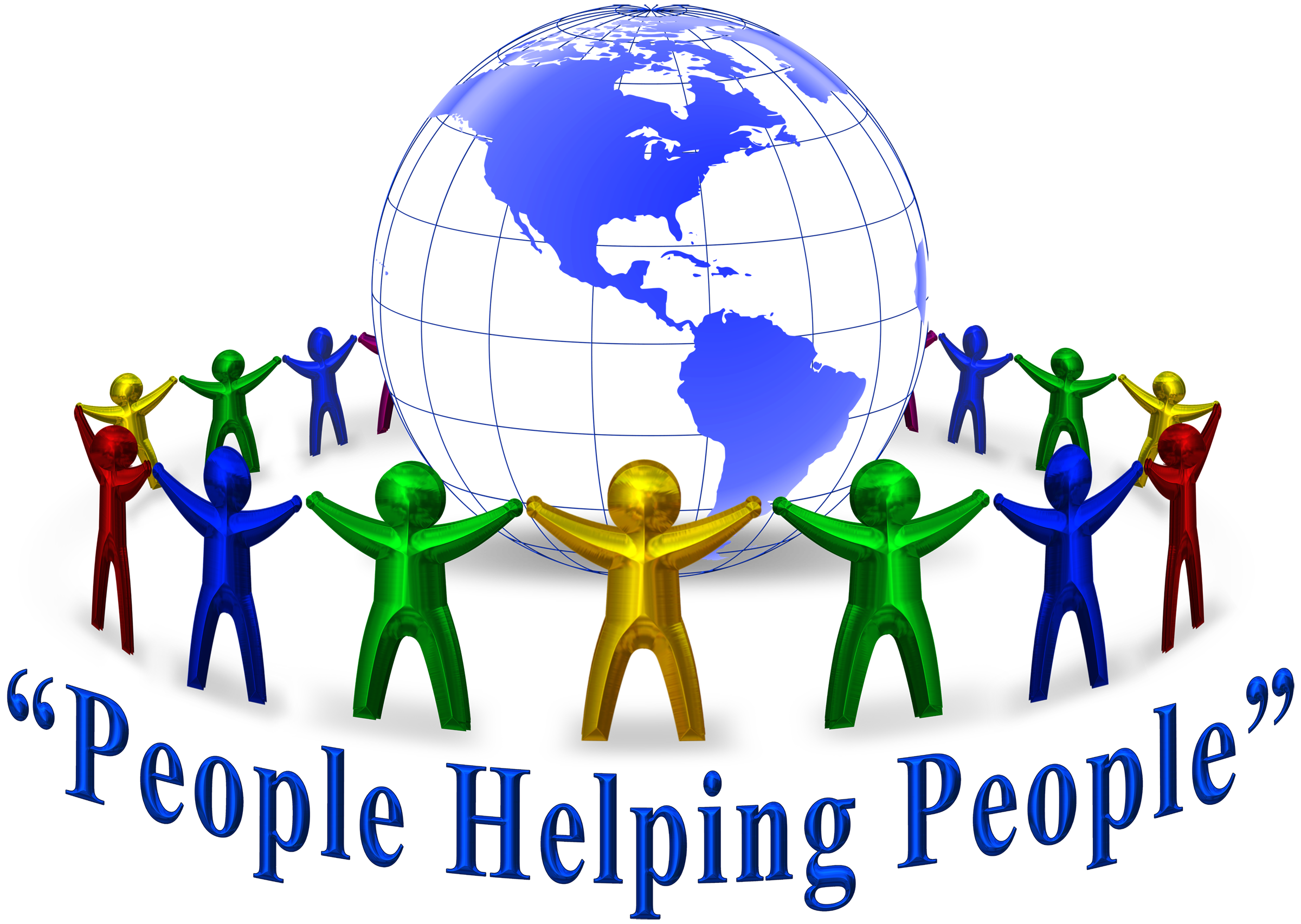 People Helping Each Other Clipart Helping other people - clipart
