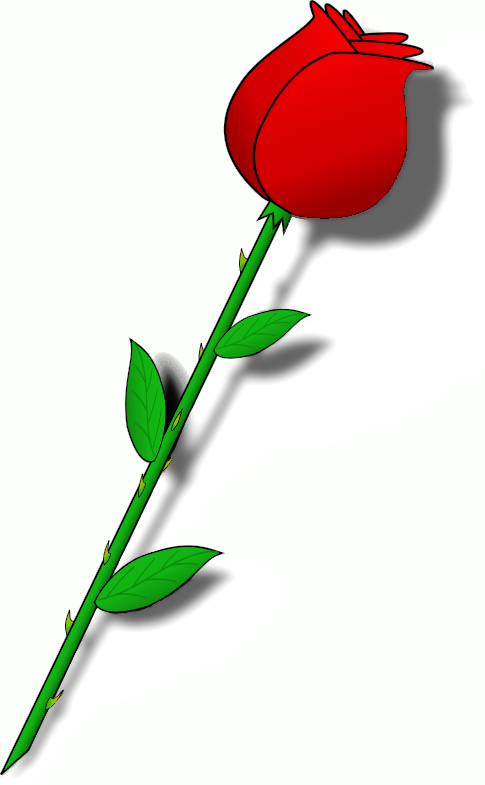 animated clip art roses - photo #24