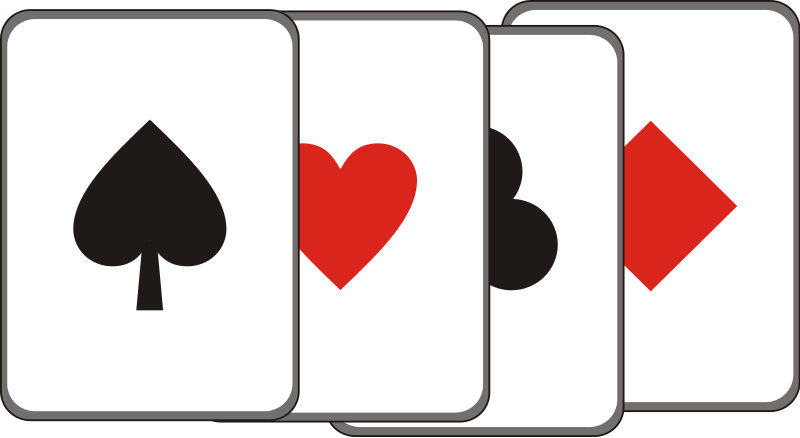 clip art free playing cards - photo #18