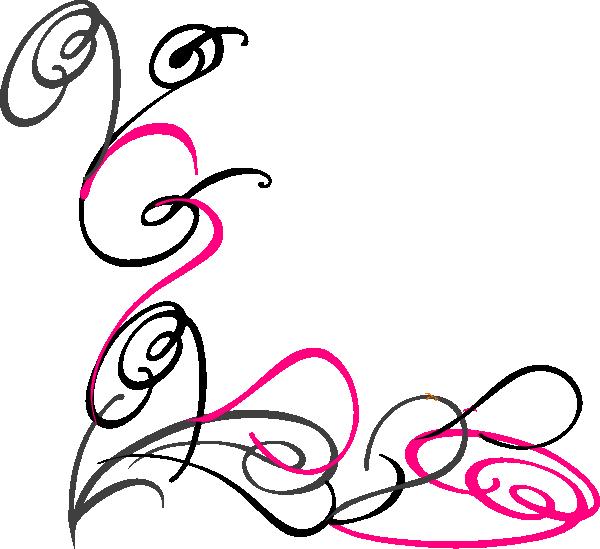 Pink Swirl Background
