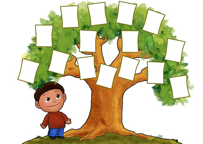 Family Tree Pattern Printable - ClipArt Best