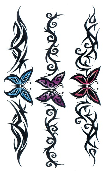 of temporary tattoos tribal butterfly armband free download clipart best clipart best. Black Bedroom Furniture Sets. Home Design Ideas