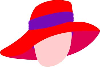 Red Hat Society Clip Art - ClipArt Best