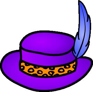 Pimp Hat clip art - vector clip art online, royalty free & public ...