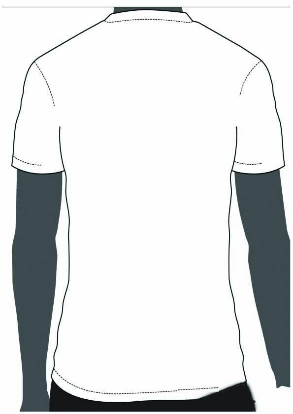 T shirt template back clipart best for Football t shirt cake template
