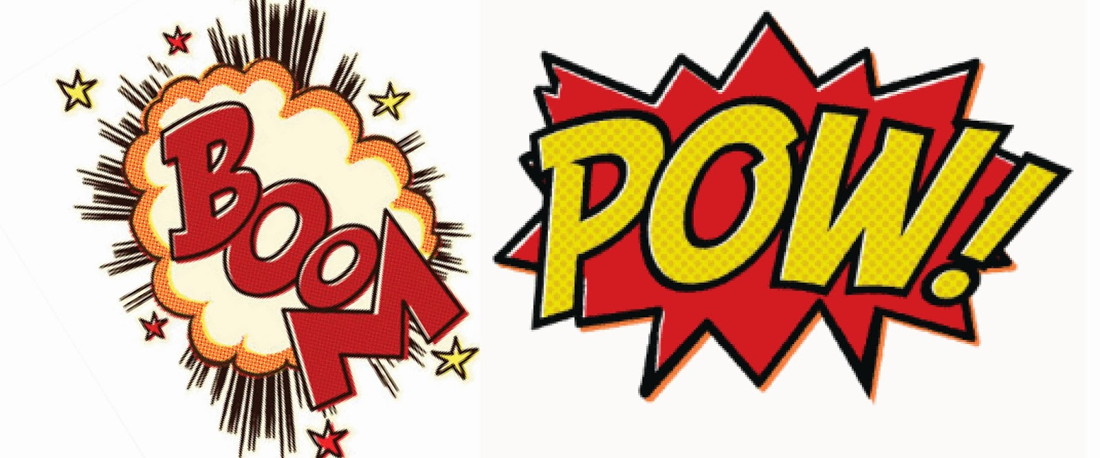 pop art pow clipart best