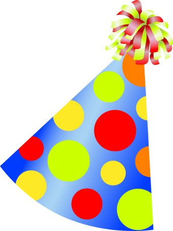 Birthday Party Hat clip art