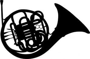 Clip Art French Horn Clipart french horn clip art clipart best 68678 dfiles