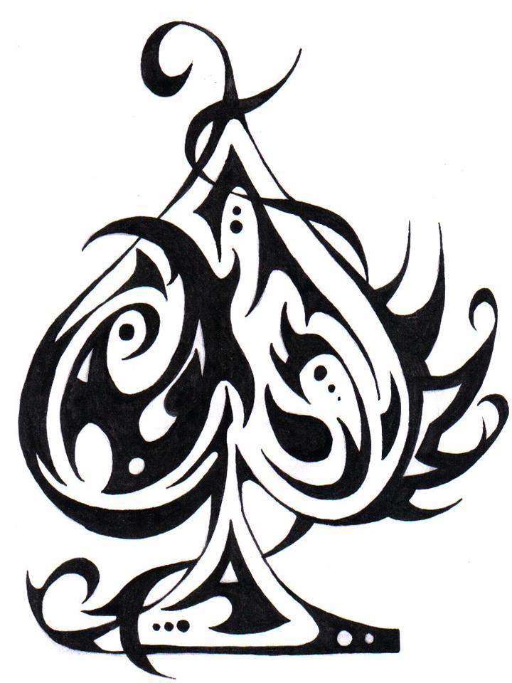 dessin tribal a imprimer gratuit az coloriage