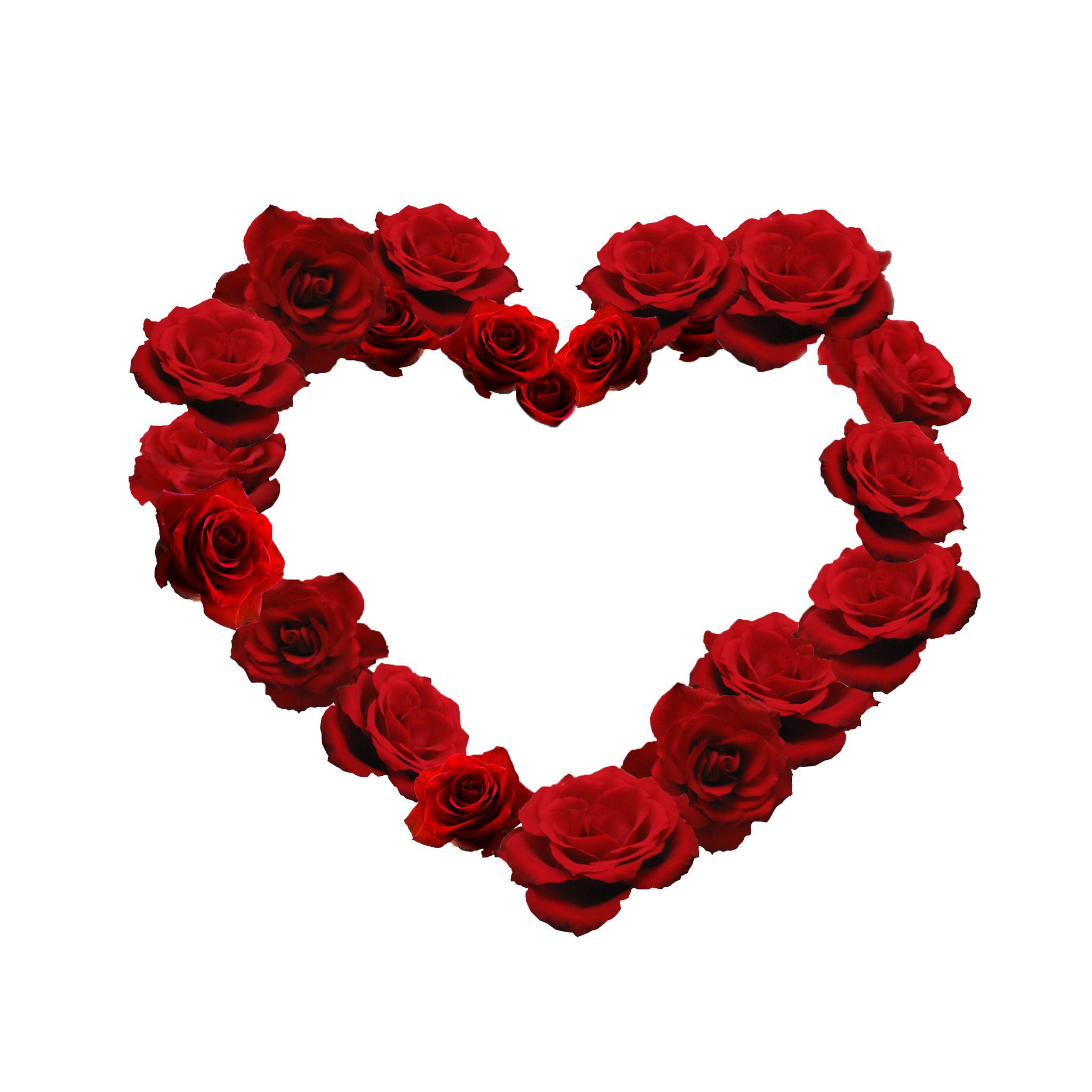heart in flower - photo #24