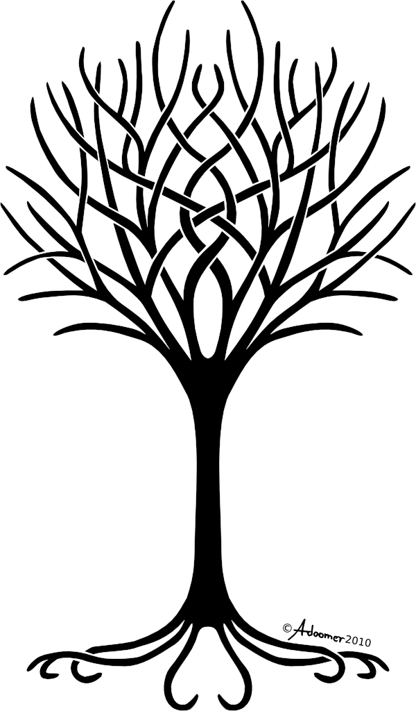 Weeping Willow Tree Black And White Tattoo Tree Of Life Clip Art ...