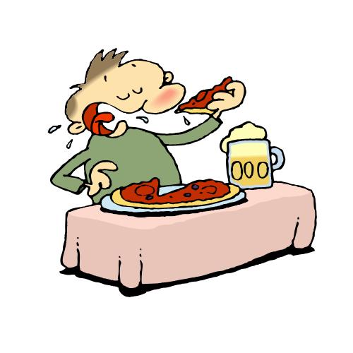 free clip art � eating pizza 027 gnurf clipart best