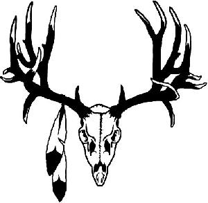 Deer Skull Silhouette in addition Waterproof Duck Hook And Antlers Decal furthermore Fu C3 9Fspuren moreover Deer Collection Vector Silhouette Gm522602759 50885558 further Deer. on deer antler silhouette