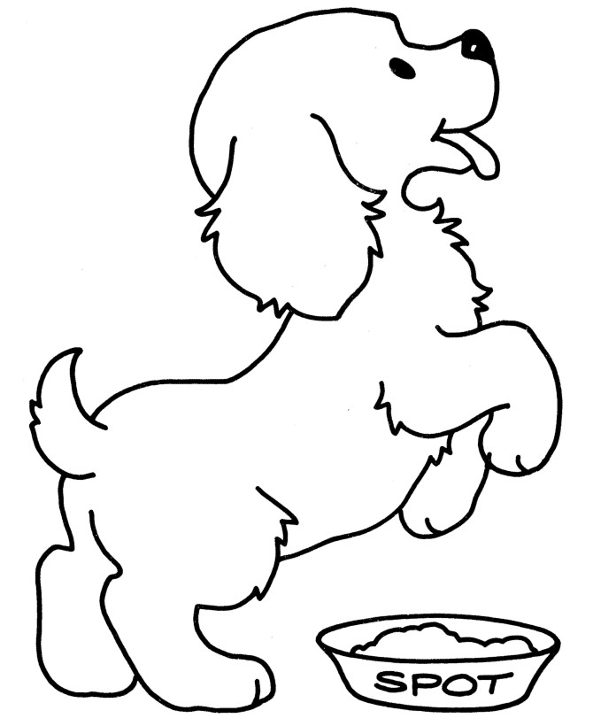 biscuit coloring pages - photo#10