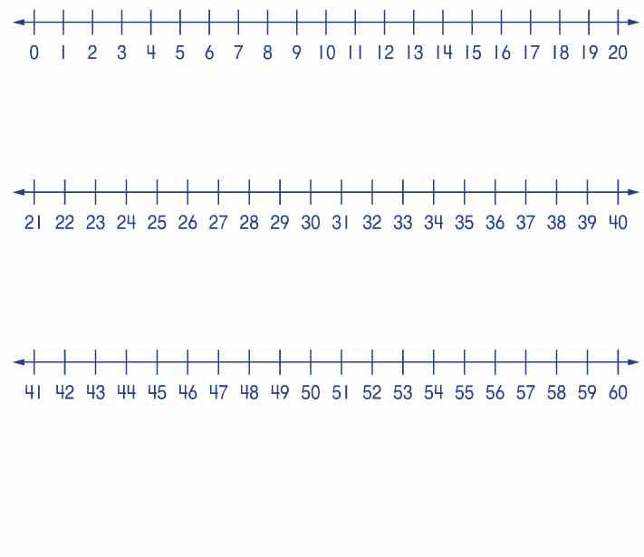 Number Line Clip Art - ClipArt Best