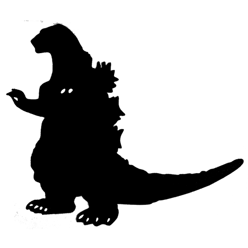 Godzilla Silhouette Vector Free - ClipArt Best