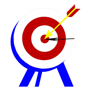 BULLS-EYE clipart, cliparts of BULLS-EYE free download (wmf, eps ...