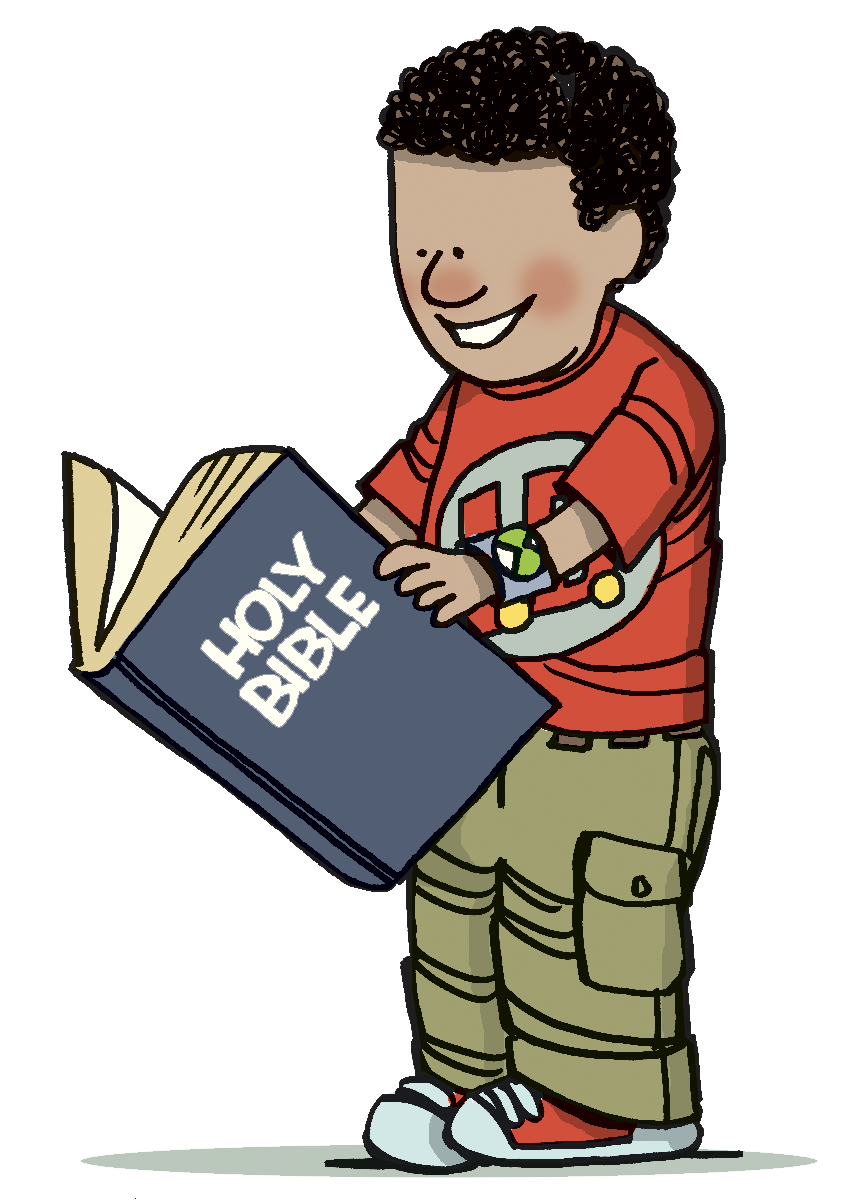 Reading Bible Clipart - ClipArt Best