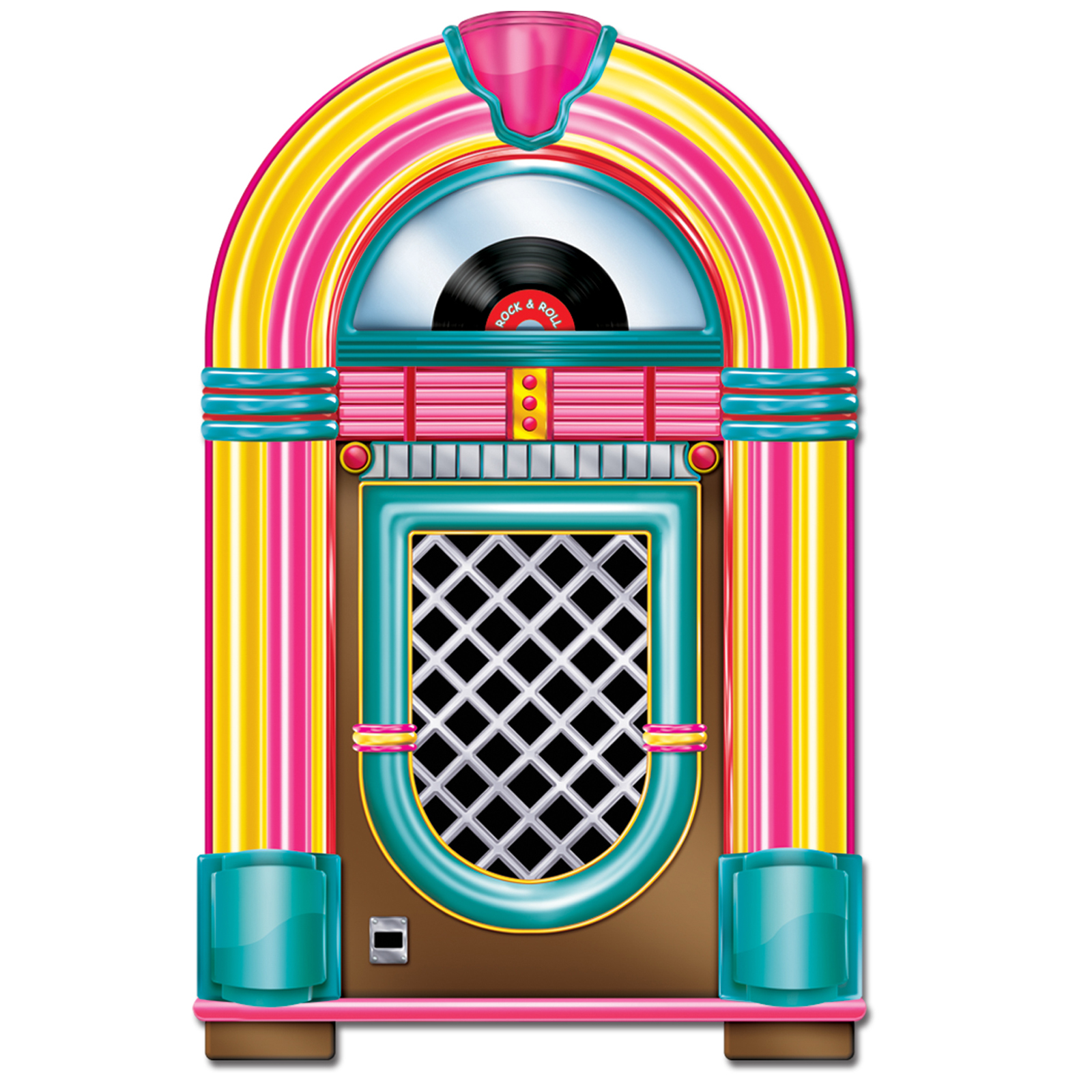 50s jukebox clipart clipart best for Deco murale annee 50