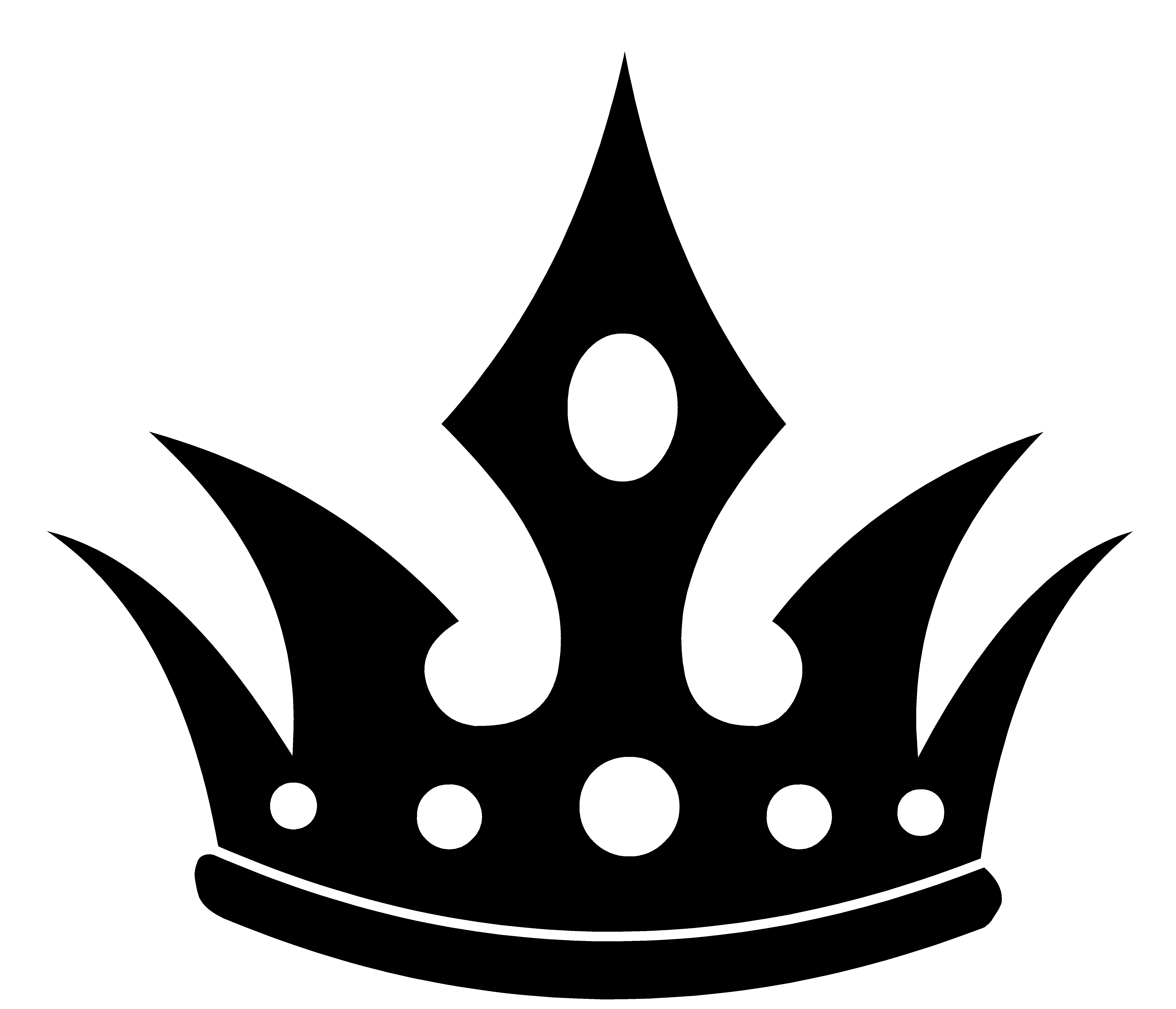 King Crown Silhouette - ClipArt Best