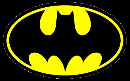 photograph regarding Batman Stencil Printable identified as Printable Batman Symbol - ClipArt Least difficult