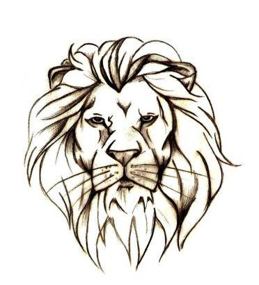 Lion head tattoo designs - photo#5