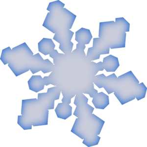 Winter Snowflake clip art - vector clip art online, royalty free ...