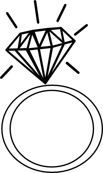 Free Clipart Engagement Ring