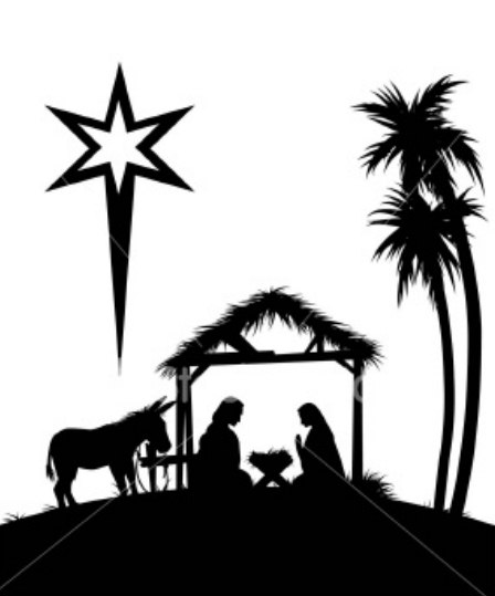 free clipart of baby jesus in a manger - photo #12