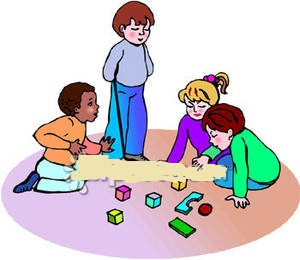 children playing toys clipart - photo #33