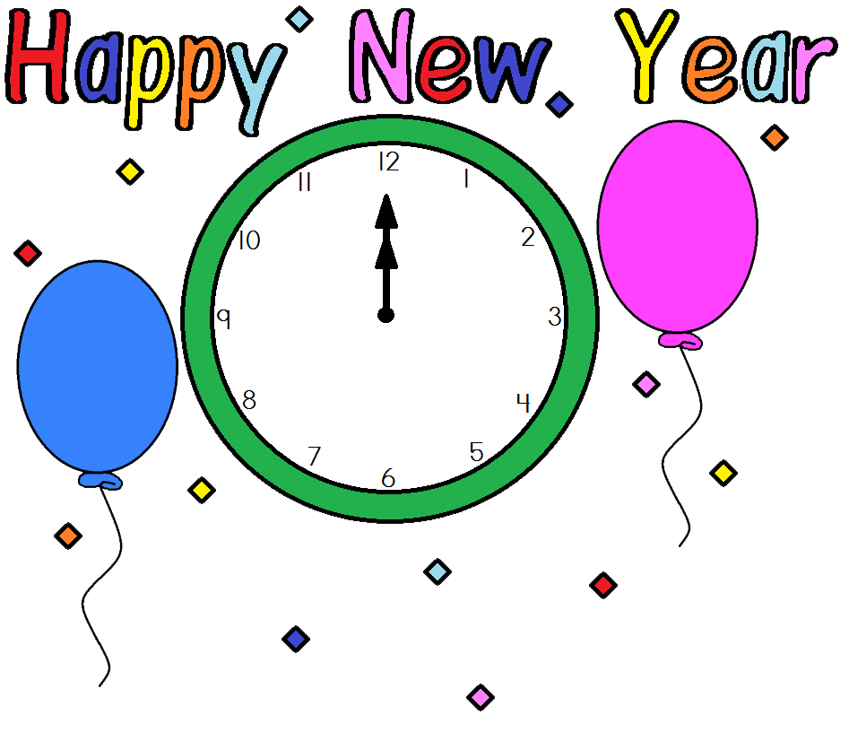Happy New Year Animated Clip Art - ClipArt Best