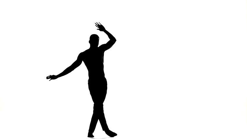 Dance Silhouette Man - ClipArt Best