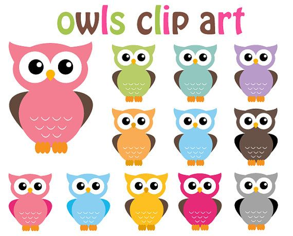 free easter owl clip art - photo #14