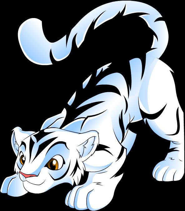 Cartoon White Tiger - ClipArt Best