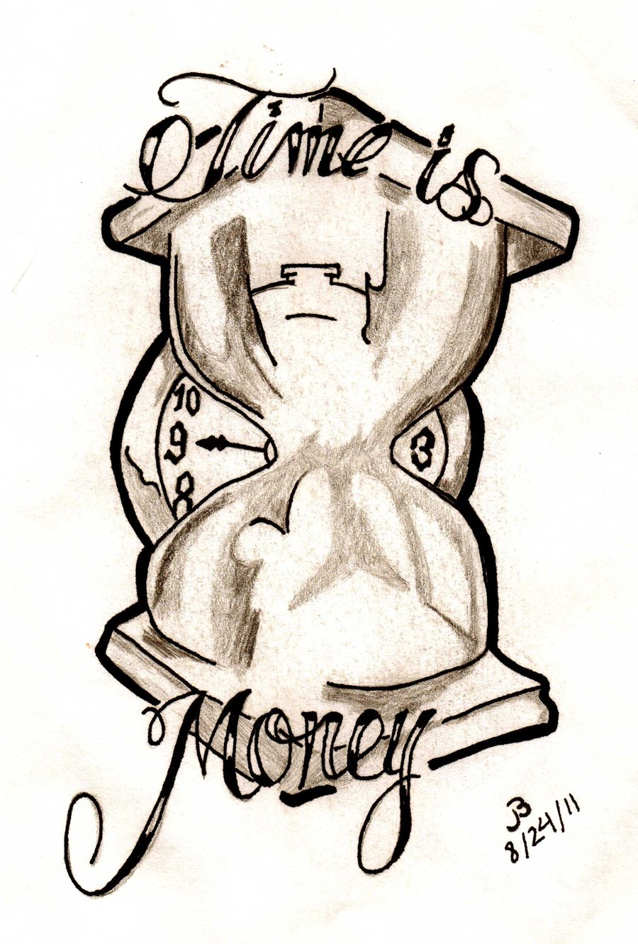 Money Tattoo Drawings - ClipArt Best