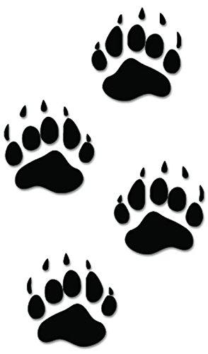 bear paw tracks clipart best bear paw silhouette clip art Grizzley Bear Paw Clip Art