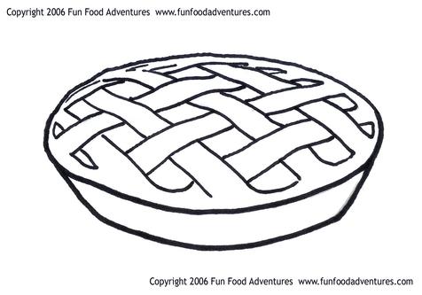 Pie Coloring Picture ClipArt Best
