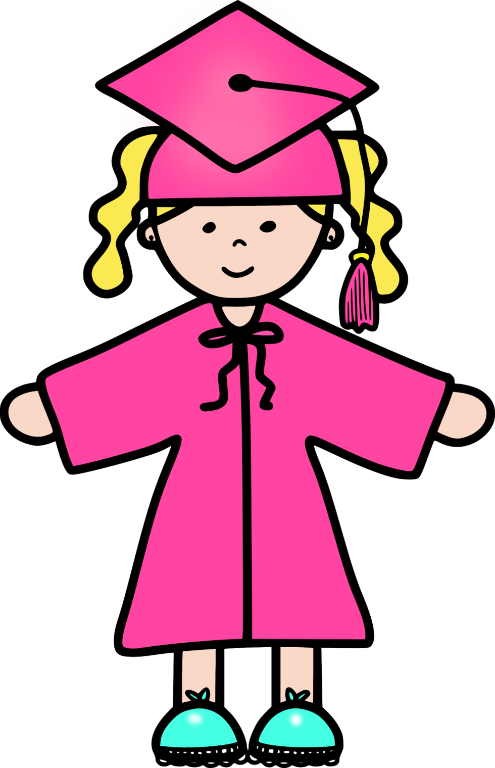 Graduation Girl Clip Art Clipart - Free to use Clip Art Resource